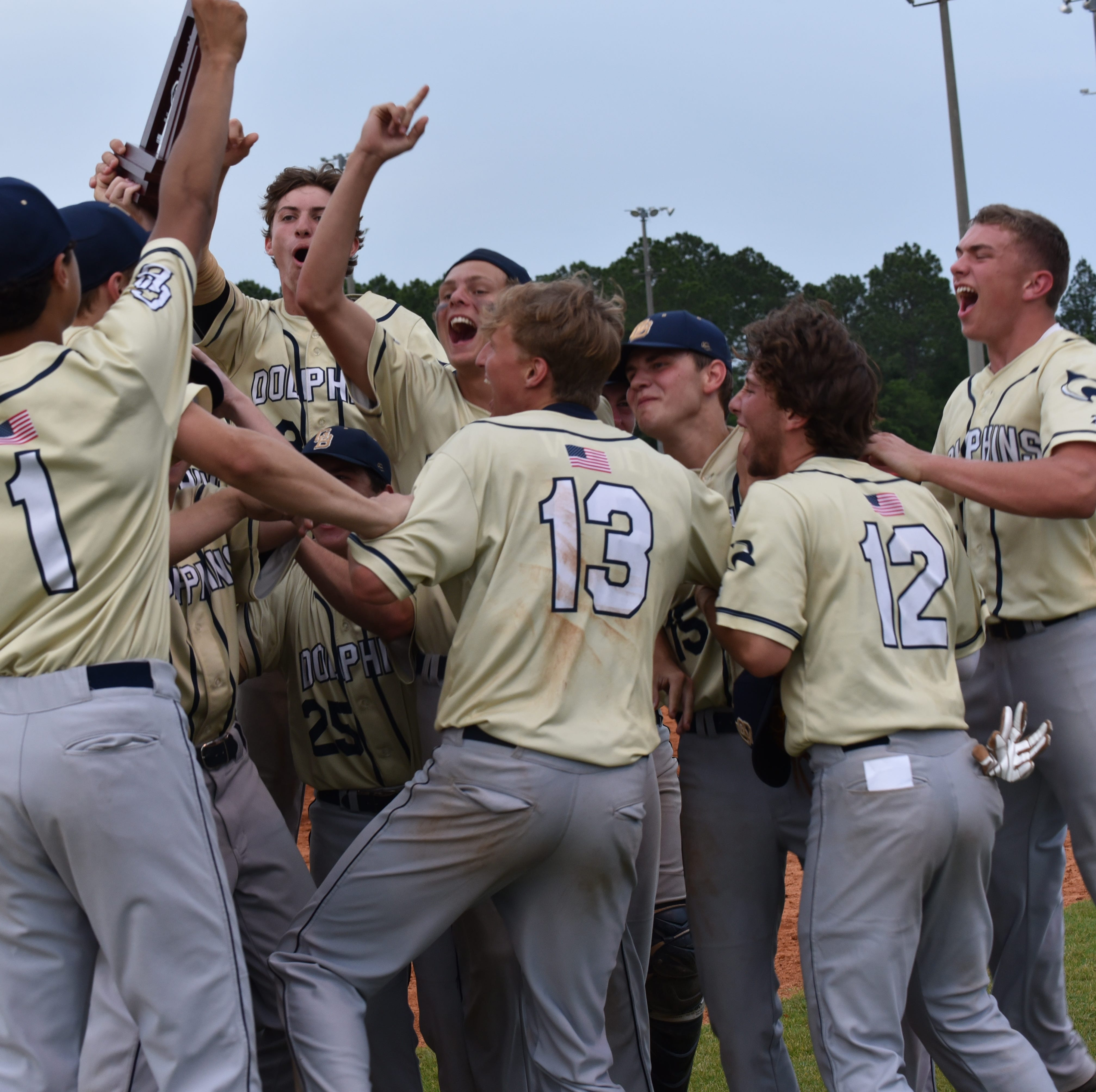 Amid hardship season, Gulf Breeze baseball team gets uplifting district title win