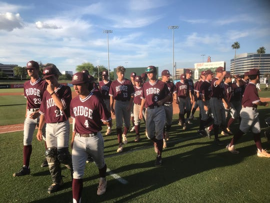 Mountain Ridge forced a rematch against Chandler Hamilton in the semifinals with Friday's win at Tempe Diablo Stadium.