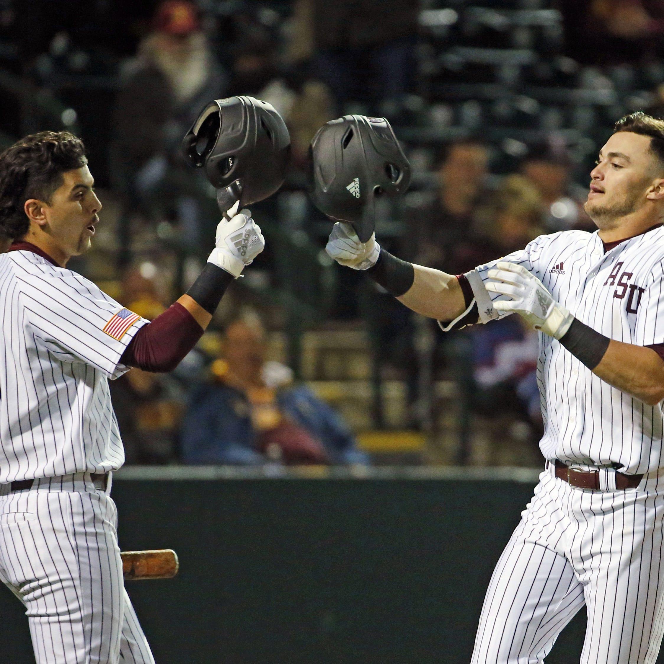Hunter Bishop, Spencer Torkelson homer again in No. 20 ASU baseball's opening win at Nebraska