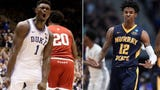 CBS College Basketball Analyst Clark Kellogg talks about whether the Phoenix Suns should take Zion Williamson or Ja Morant if they land top pick .