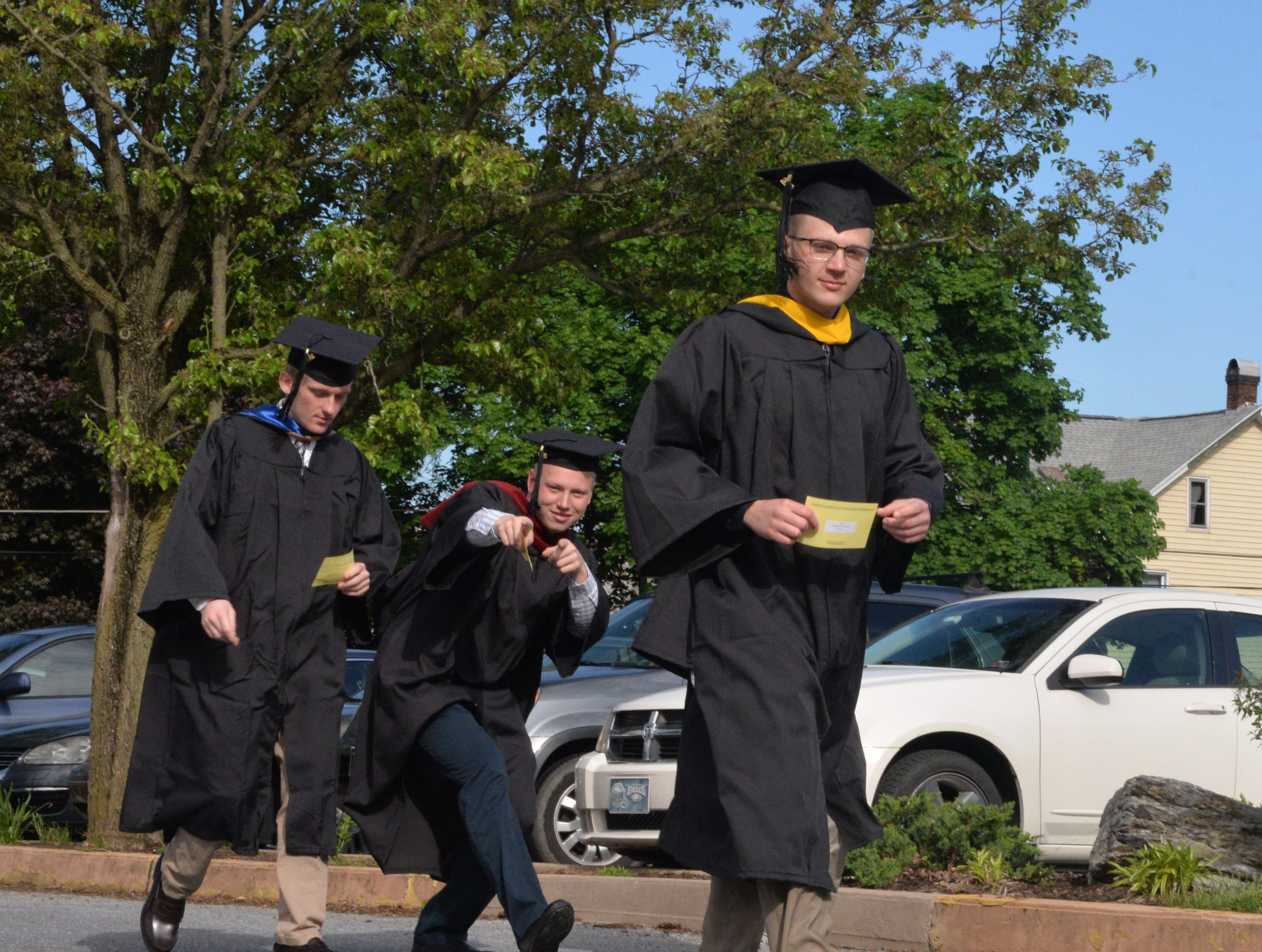 Lebanon Valley College graduated 470 students at the 150th Commencement Exercises held Saturday, May 11, 2018 at the Louis A. Sorrentino Gymnasium in Annville, PA.