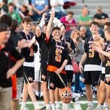 The Central York boys' lacrosse team won its second YAIAA title in three seasons Friday, beating York Catholic 13-5 at Eastern York.