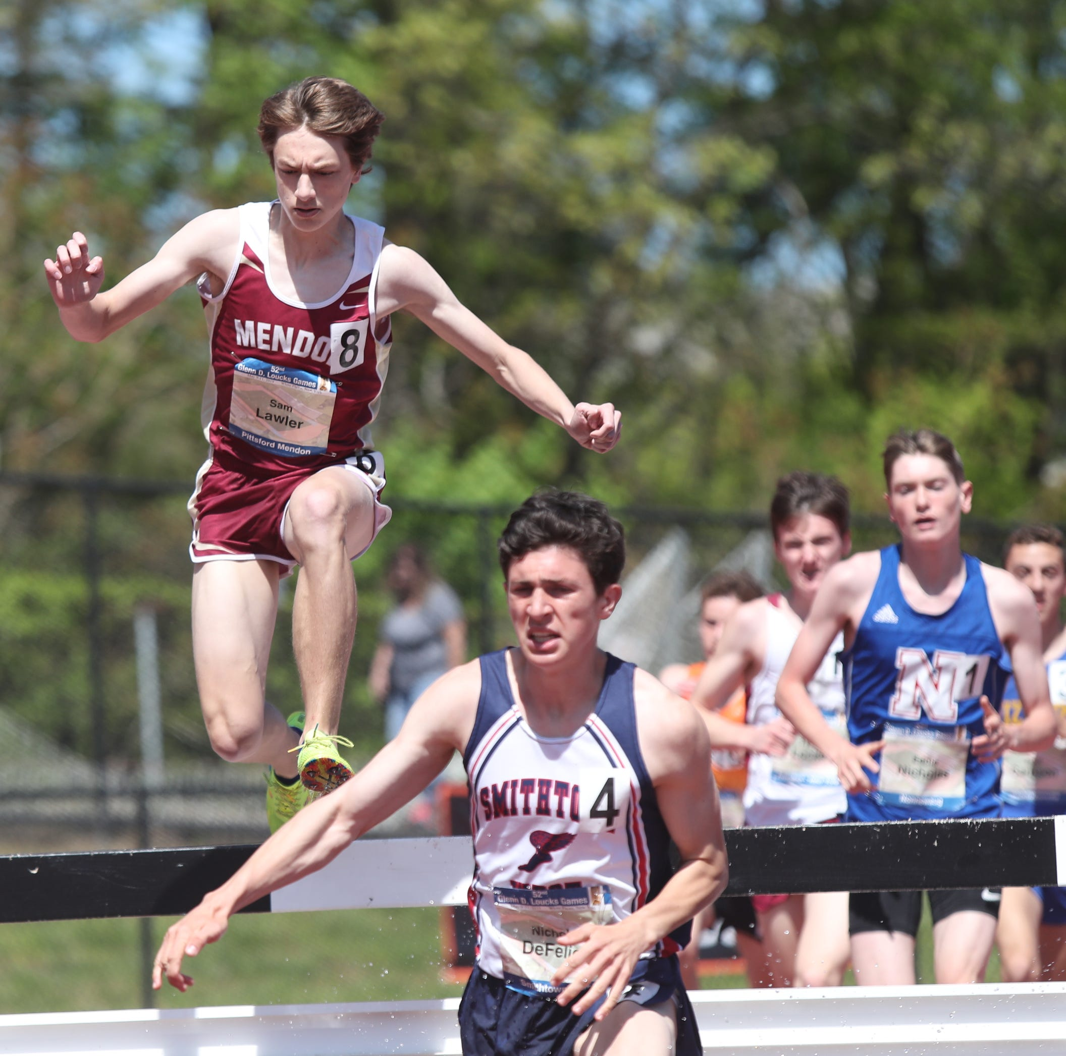 Pittsford Mendon's Sam Lawler takes podium in steeplechase at Loucks Games