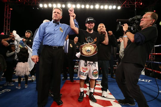 Ruben Villa IV is named winner by unanimous decision Friday night.