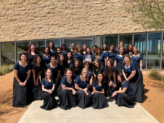 The Bella Voce Women's Choir from San Angelo Central High School.