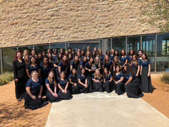The Concert Ladies Choir from San Angelo Central High School.