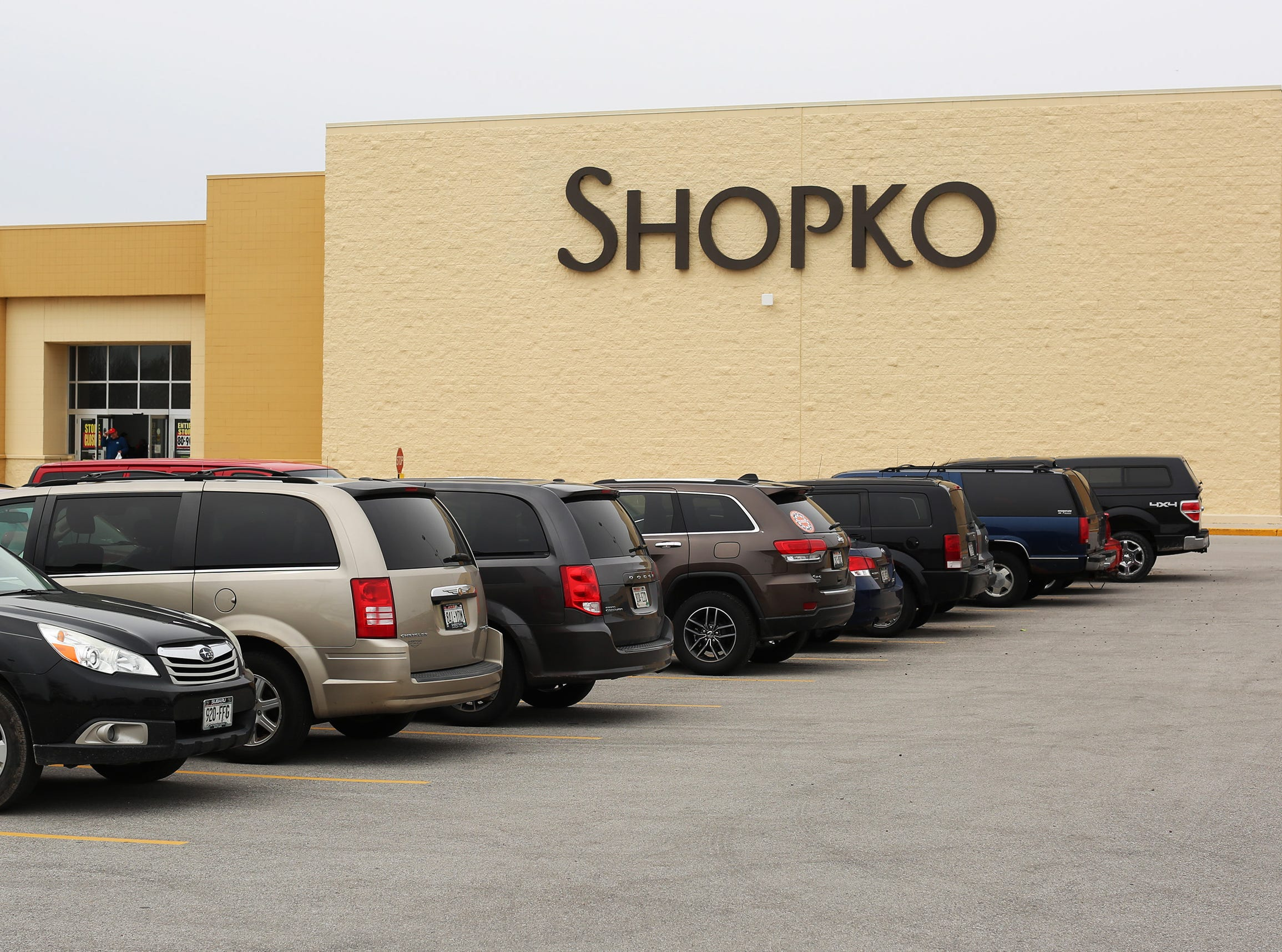 An exterior of at ShopKo, Saturday, May 11, 2019, in Sheboygan, Wis. The store is in its last weekend.