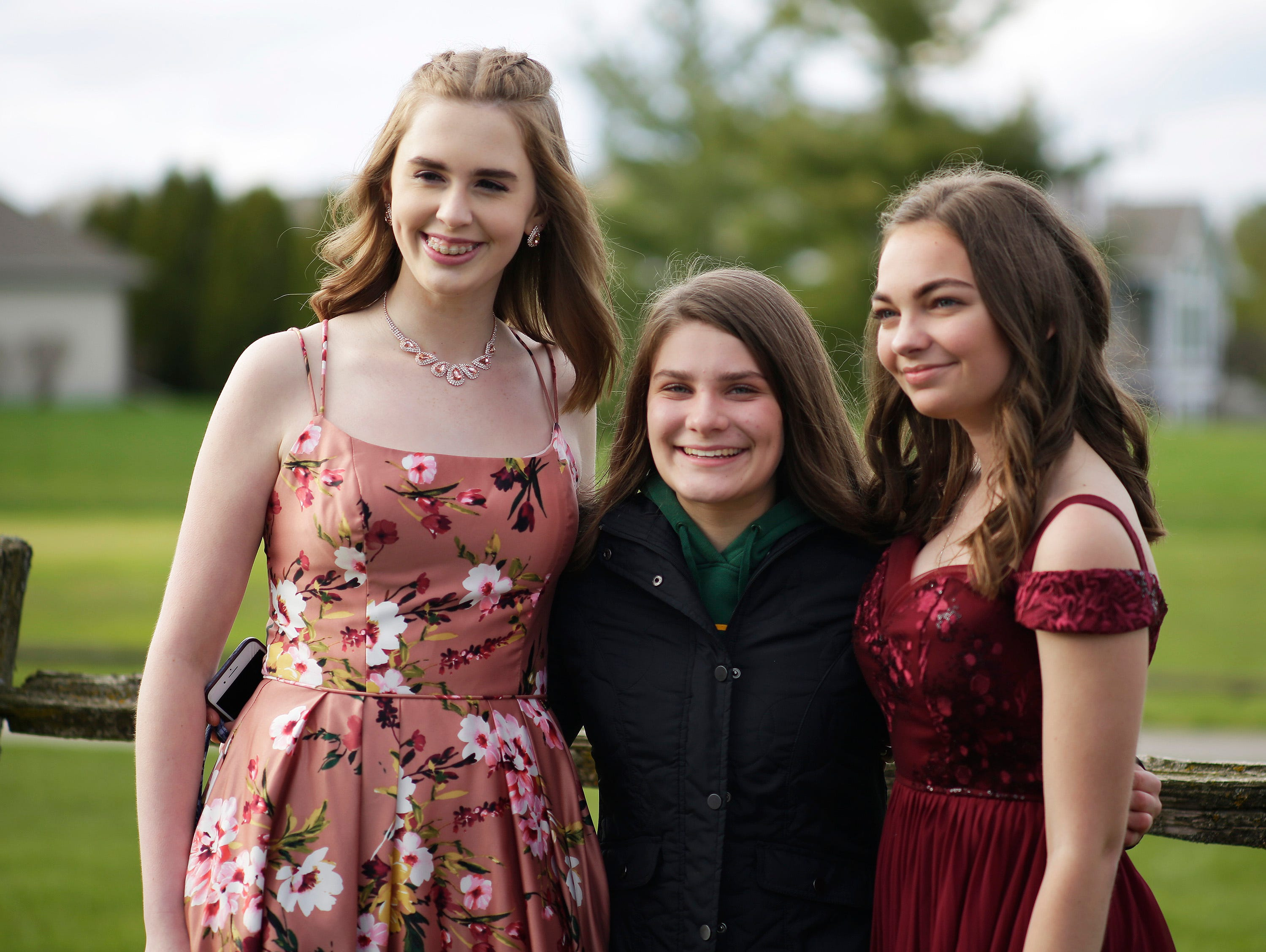 Scenes from the Sheboygan Lutheran Prom, Friday May 10, 2019, at The Bull at Pinehurst Farms in Sheboygan Falls, Wis.