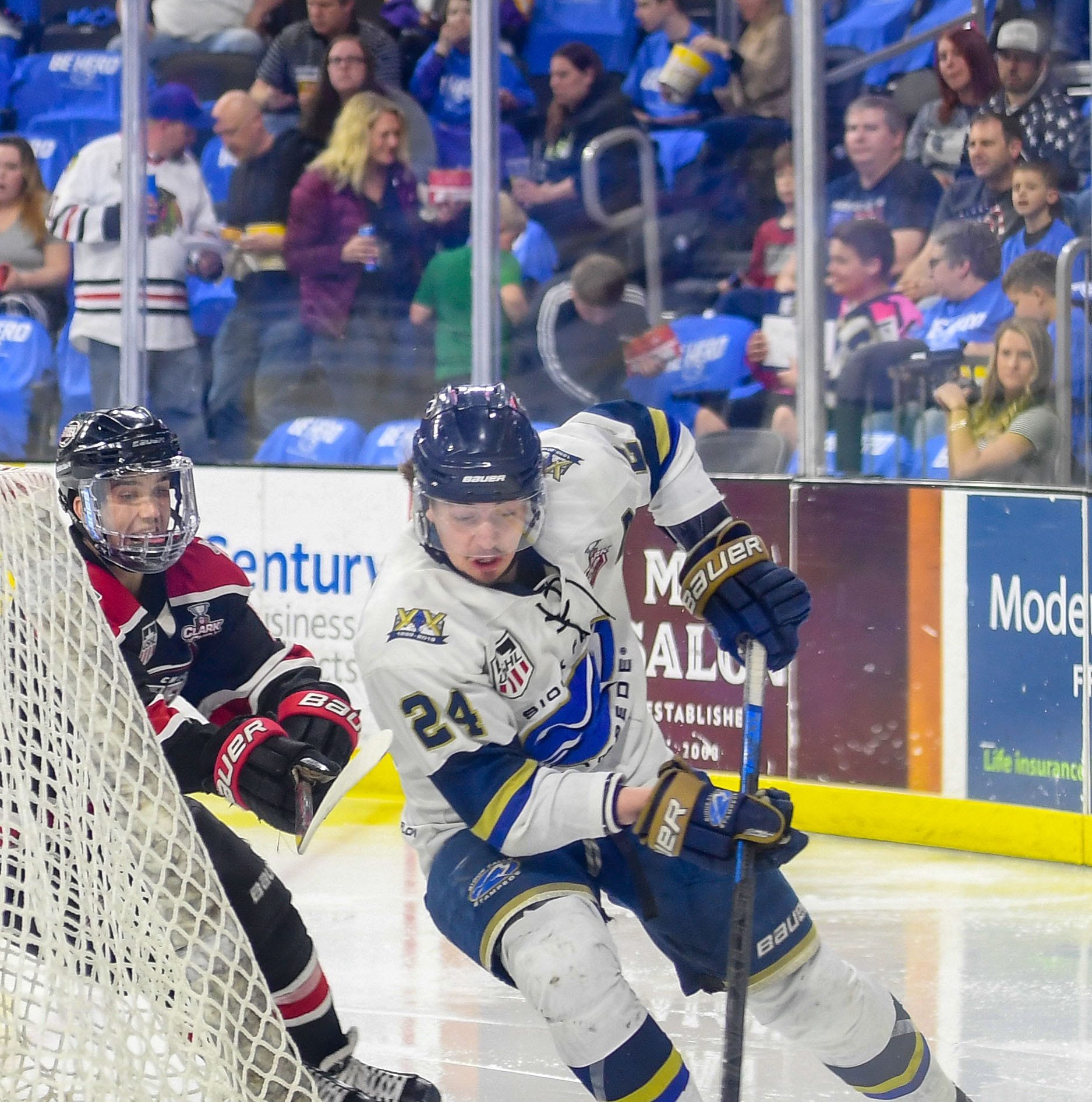 Max Crozier leads Stampede hockey's defense ... with his offense