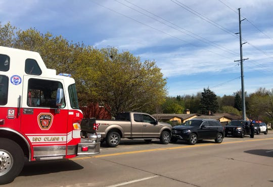 Police responded to a a car crash around 4:47 p.m. when a southbound 2018 Ford F-150 collided head-on with a northbound 2017 Mercedes SUV on Kiwanis Avenue, according to a press release.