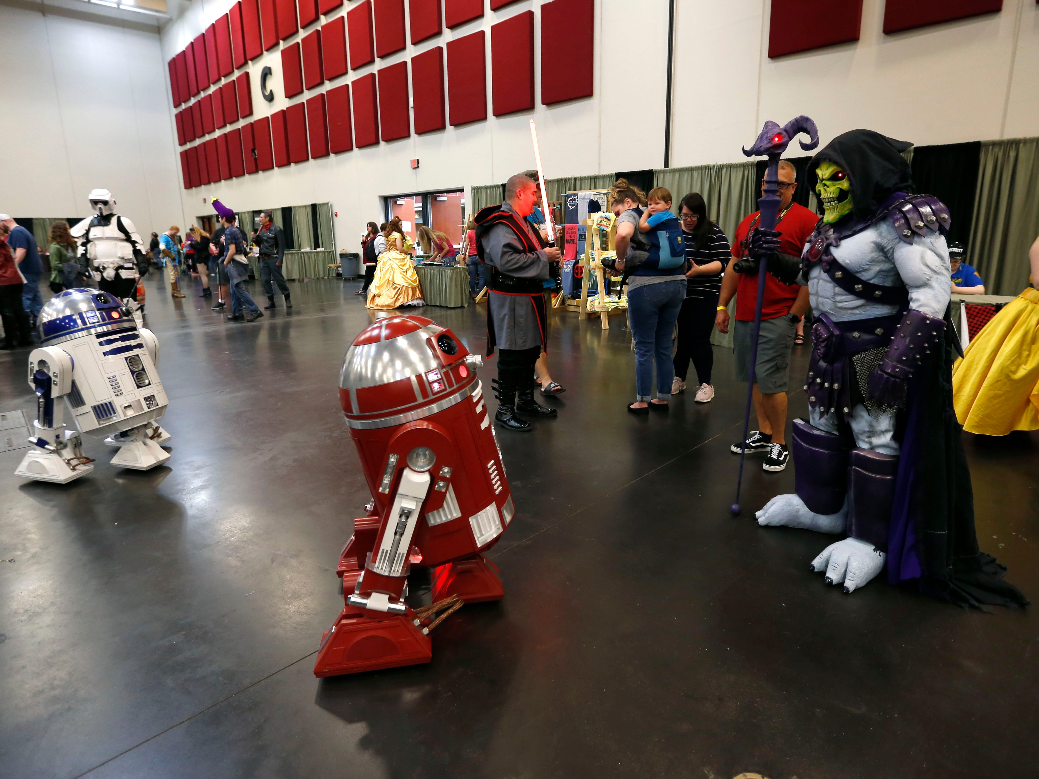 Scenes from Visioncon at the Springfield Expo Center on Saturday, May 11, 2019.