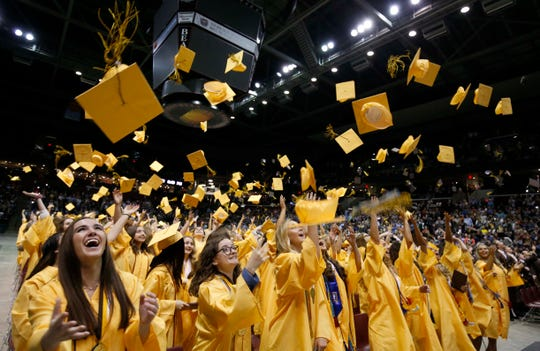 Images from the Kickapoo High School graduation at JQH Arena on May 10, 2019