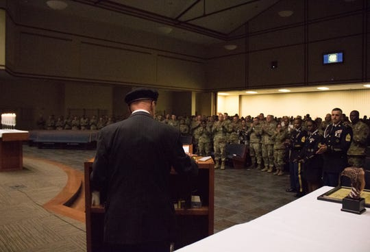 Fort Leonard Wood welcomed Auschwitz survivor Gunther Skaletz as its guest speaker to the 2019 Holocaust Remembrance Day Observance at the Main Post Chapel May 2.