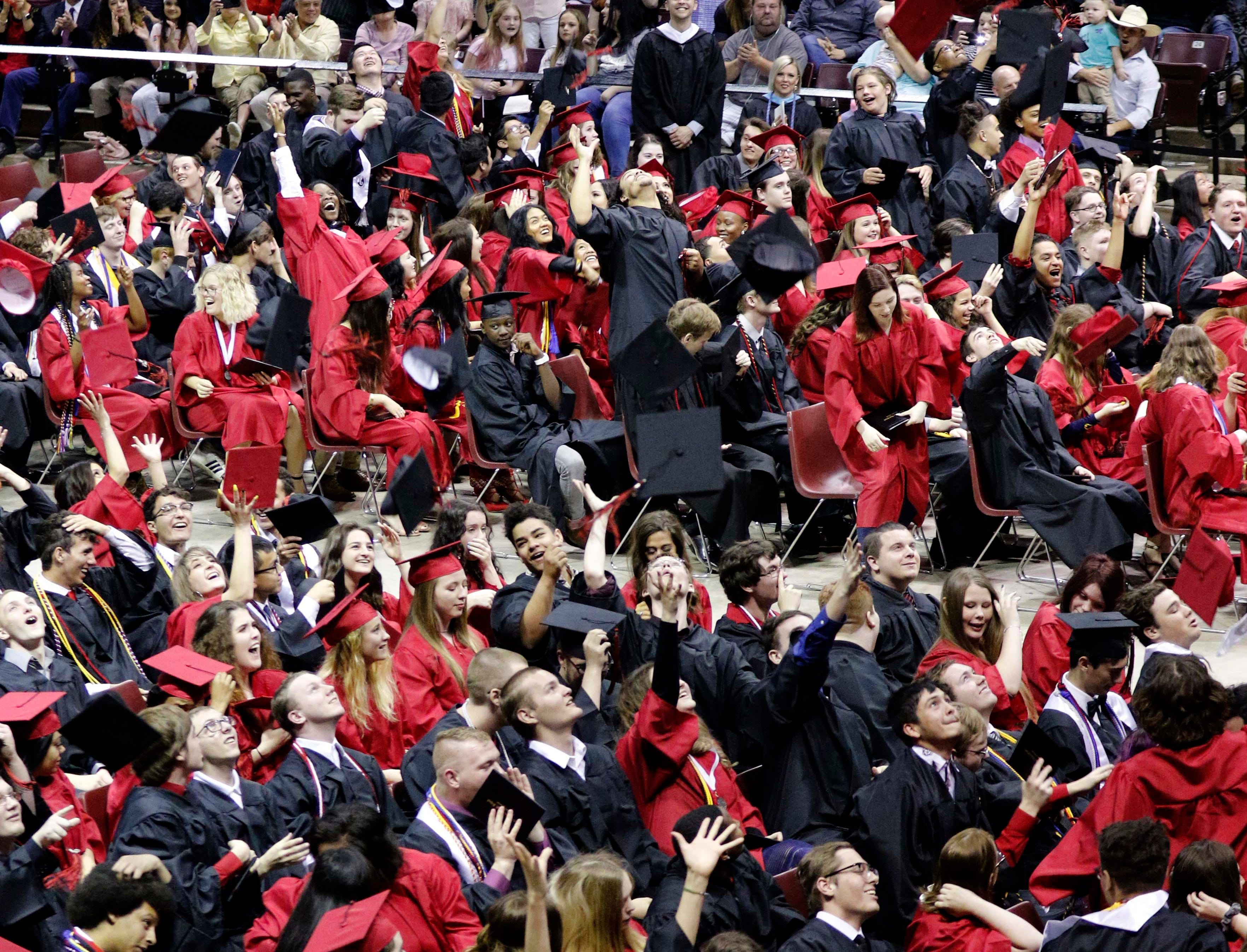 Images from the Central High School graduation at JQH Arena on May 10, 2019