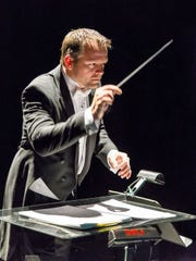 Lucas Darger is the music director with the Southwest Symphony.
