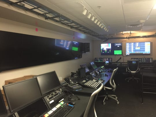 One of the many control rooms FSU has improved in the buildup to August's ACC Network launch.