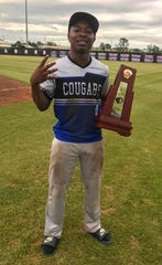 Godby junior Alvin Jones pitched a complete-game four-hitter as Godby's baseball team won a District 2-5A title by beating Marianna 5-4 in the championship game.