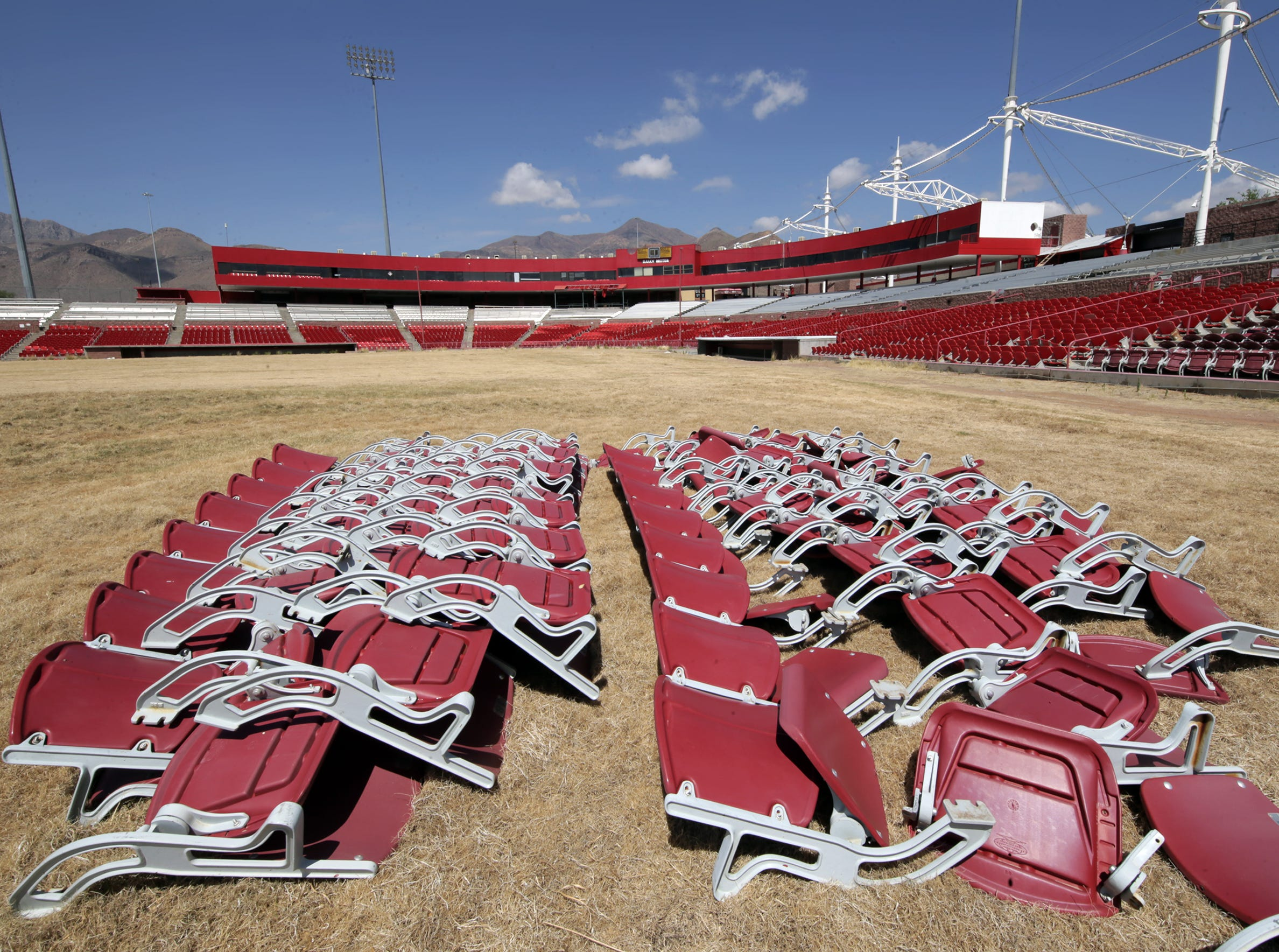 The City of El Paso held Selfie Day at Cohen Stadium Saturday to give El Pasoans a chance to say goodbye to the former home of the El Paso Diablos. 25-cent hot dogs were served at the event harkening back to the Diablo dog days.