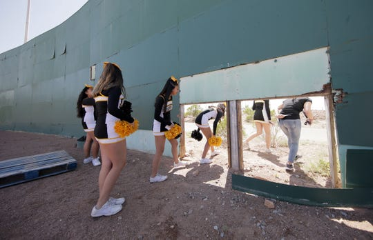 El Pasoans got to say goodbye to Cohen Stadium before it's demolished to make way for the Cohen Entertainment District. The site will be converted into a multiuse facility with a large water park, restaurants and an urban plaza. The stadium was closed to the public during Selfie Day at Cohen Stadium on Saturday, May 11, 2019, but several El Pasoans popped through a hole in center field for one last look at the deteriorating stadium.