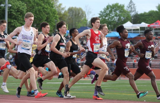 Day 2 of Loucks Games at White Plains High School May 10, 2019.