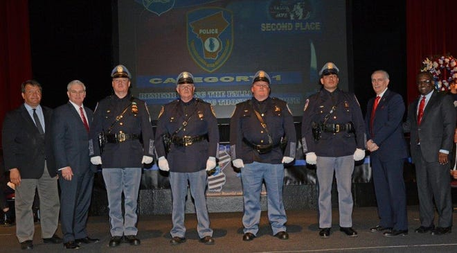 Members of the Westchester County Police Hazardous Devices Unit were among many police officers from Westchester departments honored for bravery, investigative skill and lifesaving.
