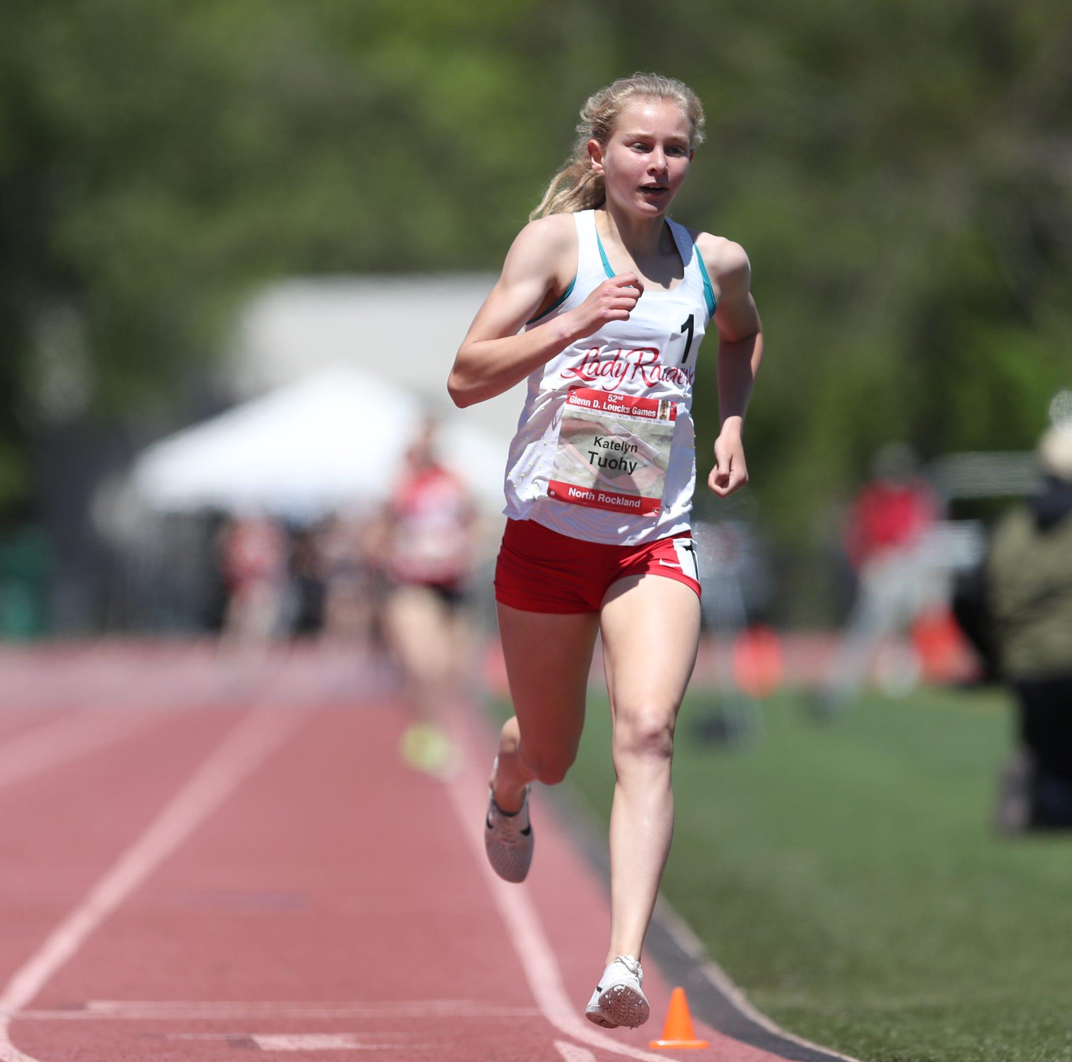 Track & field: Katelyn Tuohy, Matt Rizzo win Loucks miles; Bronxville wins boys relay