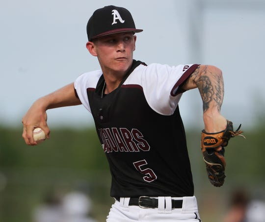 Appoquinimink pitcher Joey Davis, who went 8-0 with an 0.30 ERA during the regular season, has been named Delaware's high school baseball Player of the Year.