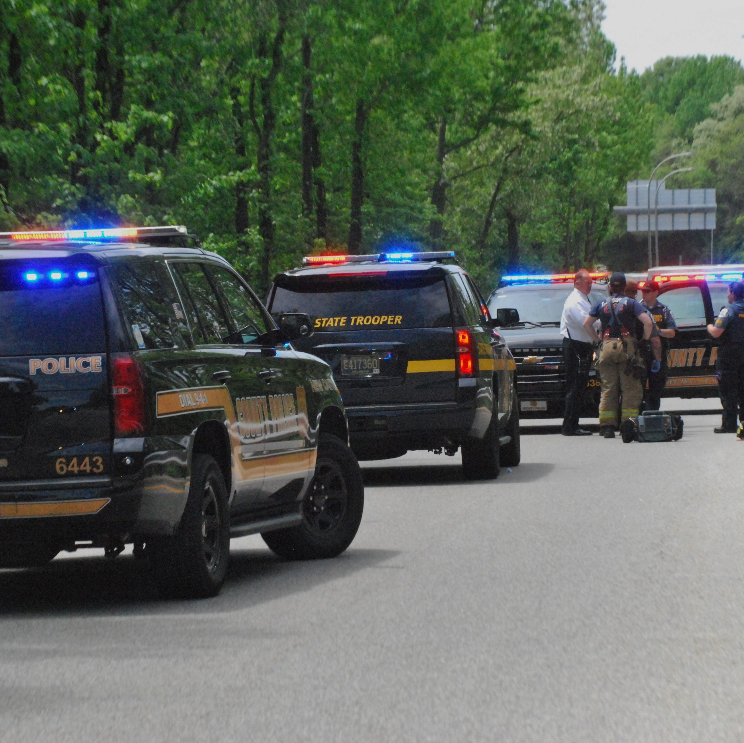 Police identify man arrested after New Castle County officer is stabbed on I-95 off-ramp