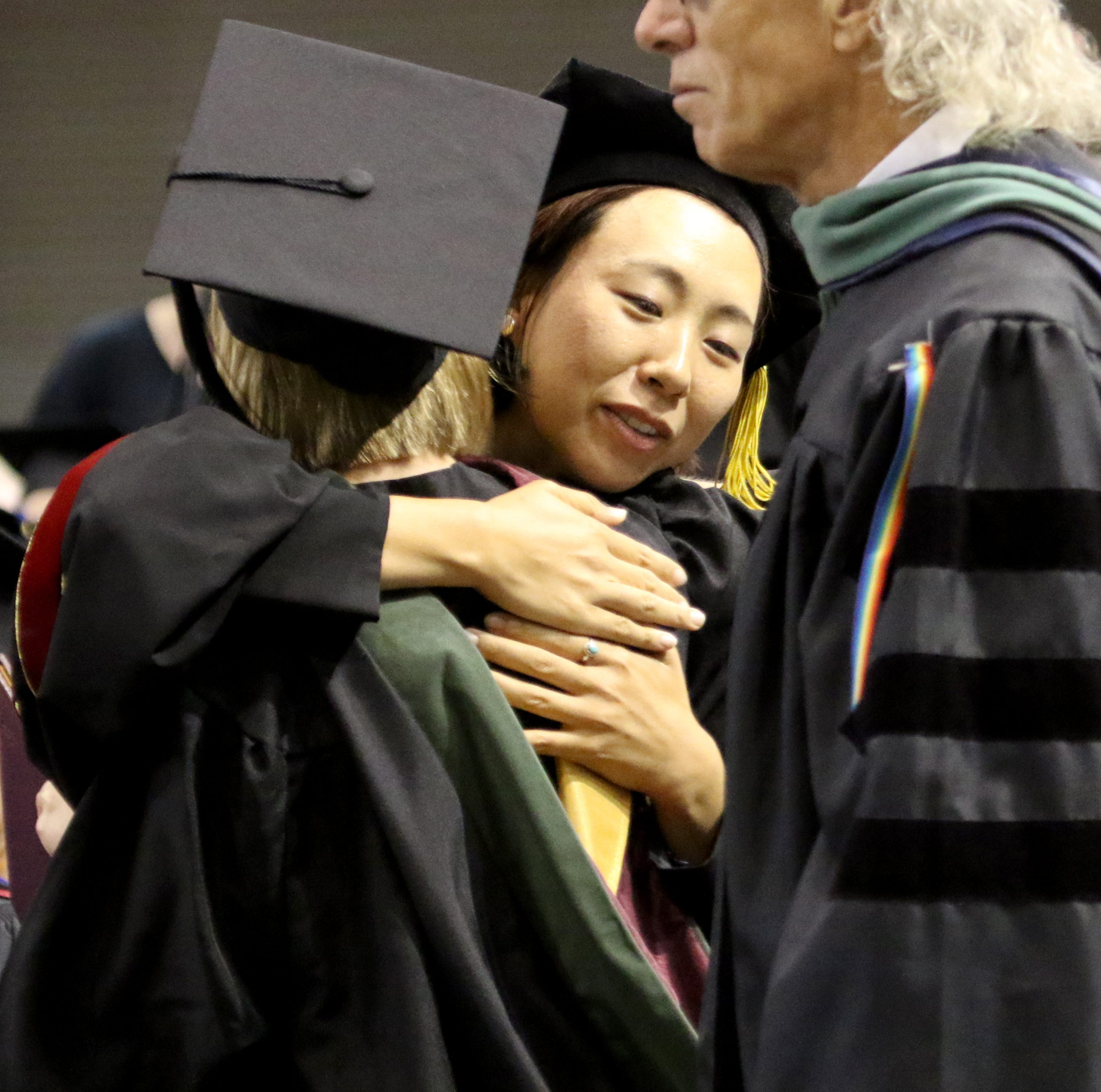 MSU Texas presented 754 undergraduate, graduate students in May ceremony