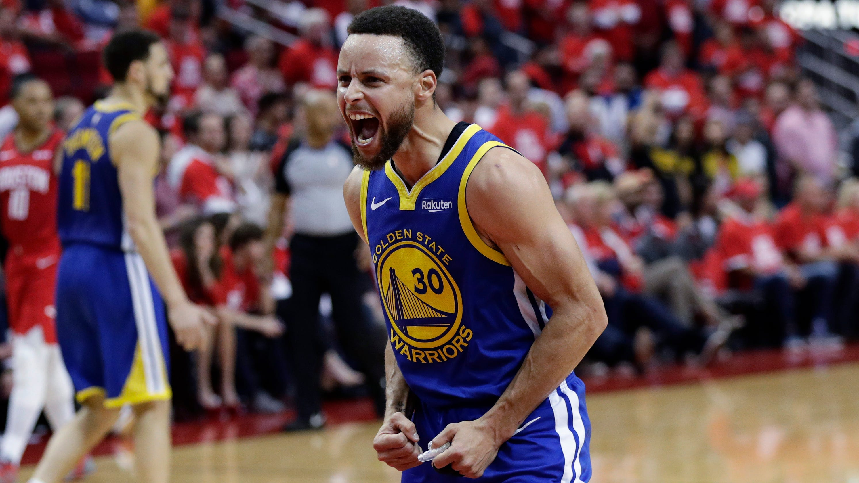NBA Playoffs: Curry Has Huge Second Half As Warriors