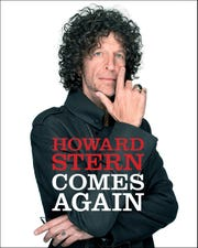 """The cover for the radio personality's third book, """"Howard Stern Comes Again."""""""