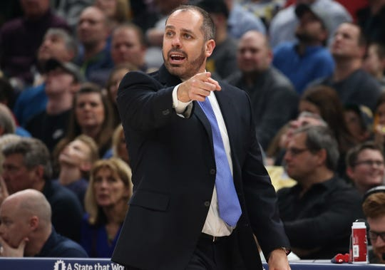 Frank Vogel compiled a 304-291 record in seven-plus seasons with the Pacers and Magic.