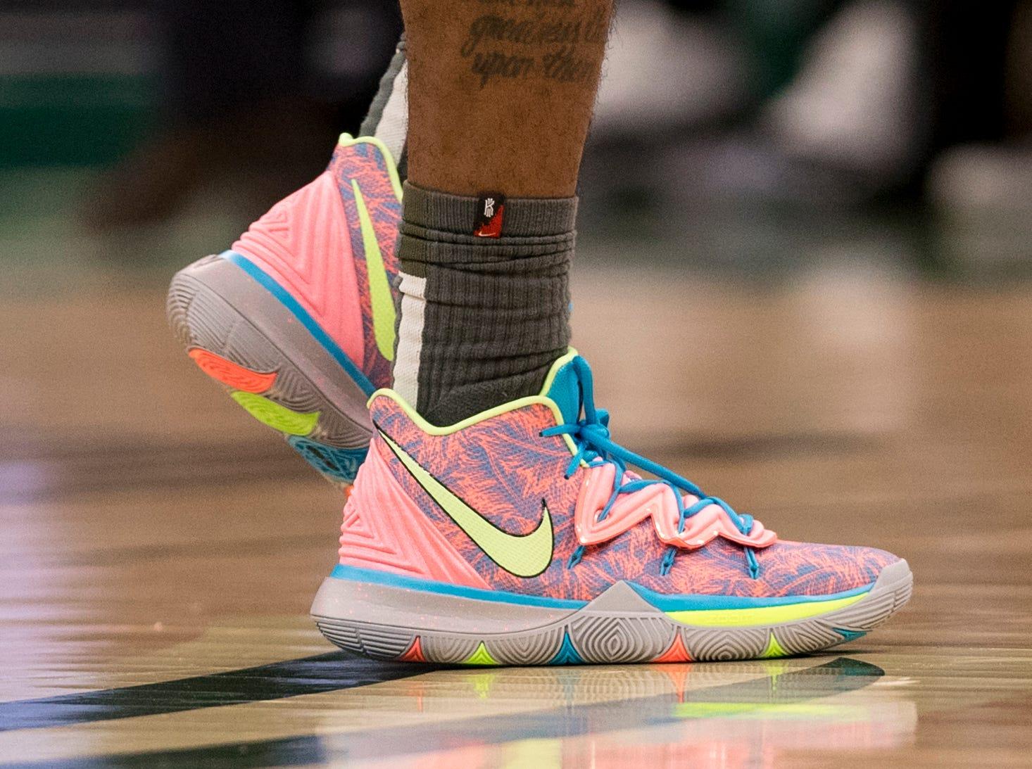 May 8: Kyrie Irving, Celtics