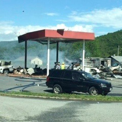 Police: Explosion and fire at Virginia gas station leaves three people dead