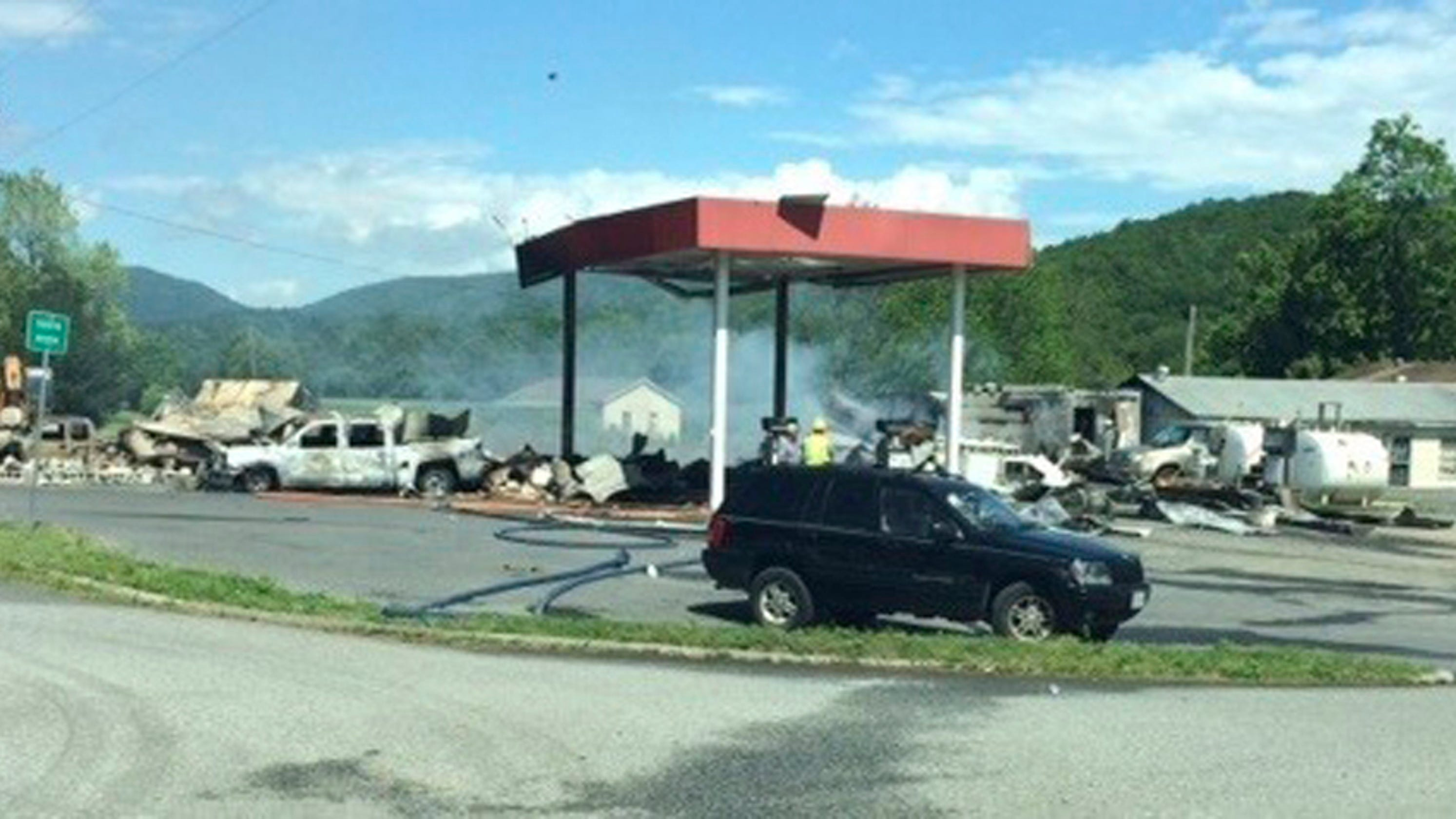 Gas station explosion in Virginia leaves three dead, police say