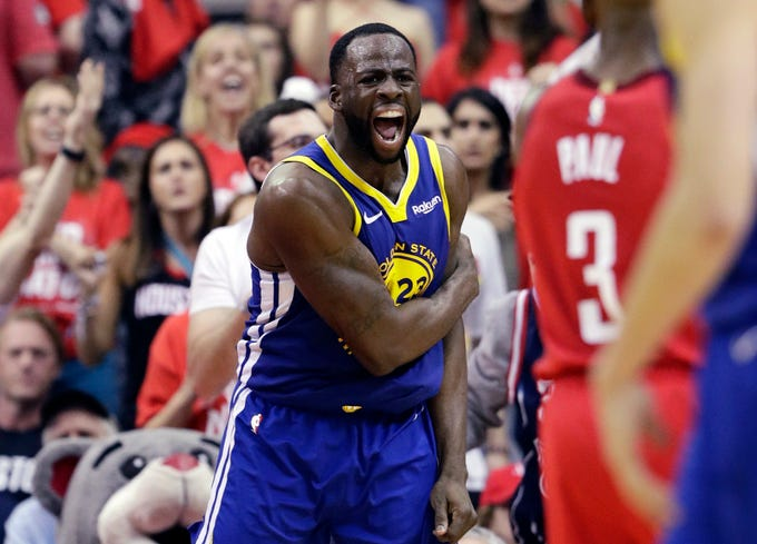 Draymond Green and the Warriors advanced to the Western Conference finals for the fifth straight year.
