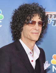 """Howard Stern, a former """"America's Got Talent"""" judge at a Season 10 taping, on Aug. 11, 2015 in New York City, is releasing a new book."""