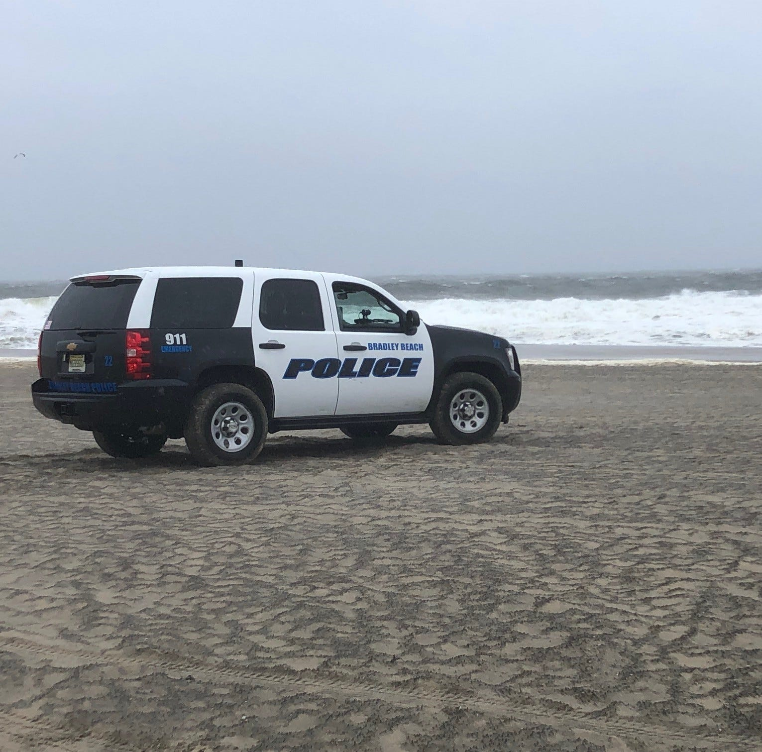 Bradley Beach rescue: Sailboat in distress battling rough seas