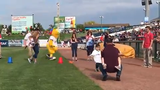 Soldier surprised his kids with homecoming at Lakewood BlueClaws game