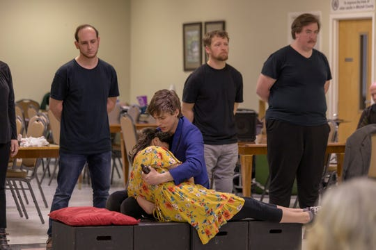 From March to May, NC Stage has toured the region bringing professional performances to homeless shelters, correctional facilities, senior centers and rural community gathering places — and, in June, the actors bring the tour home for Asheville audiences to experience.