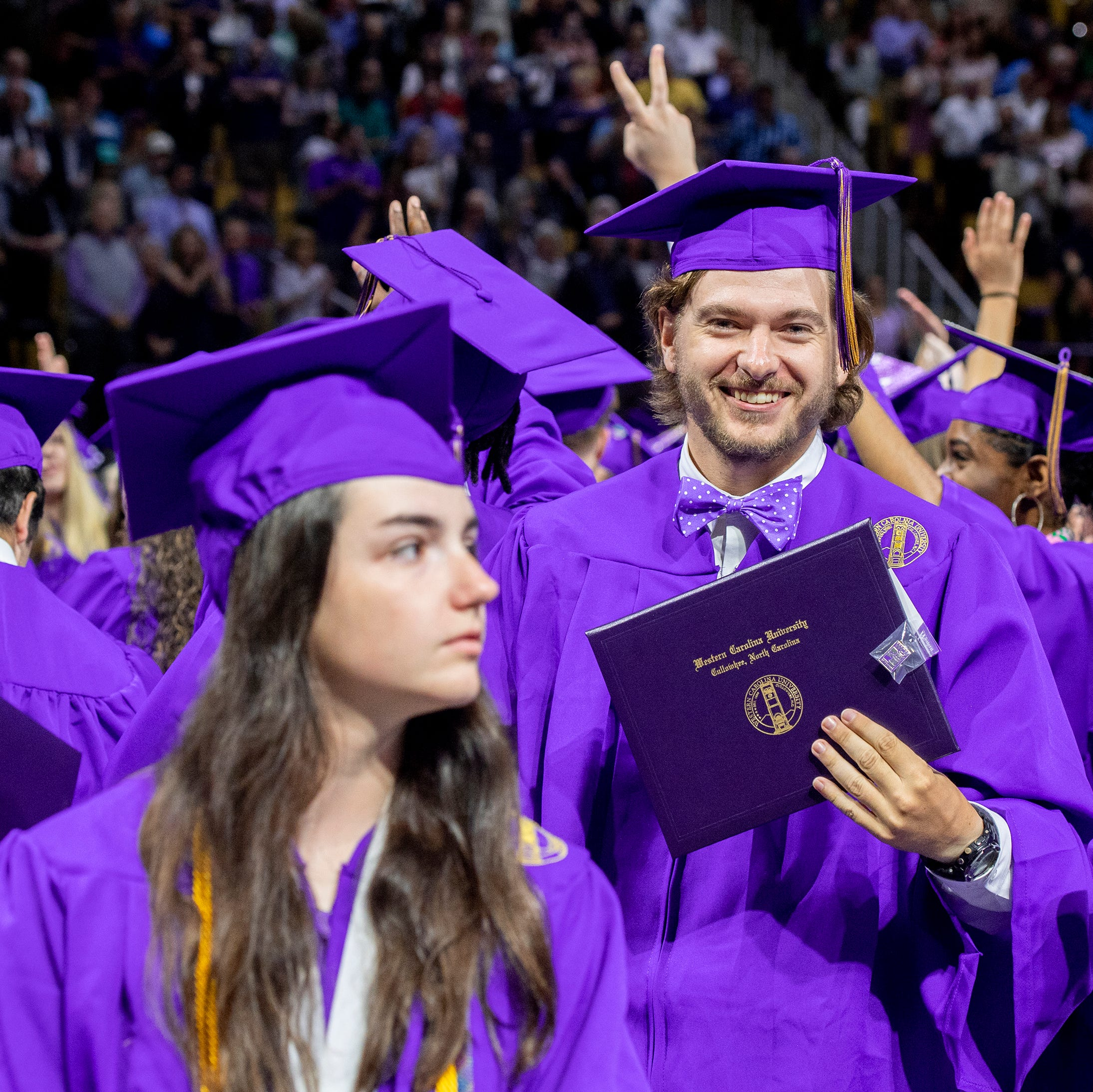 WCU holds commencement for likely largest class in school history