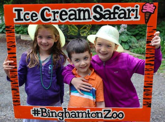 Ice Cream Safari returns to the Binghamton Zoo on July 13.