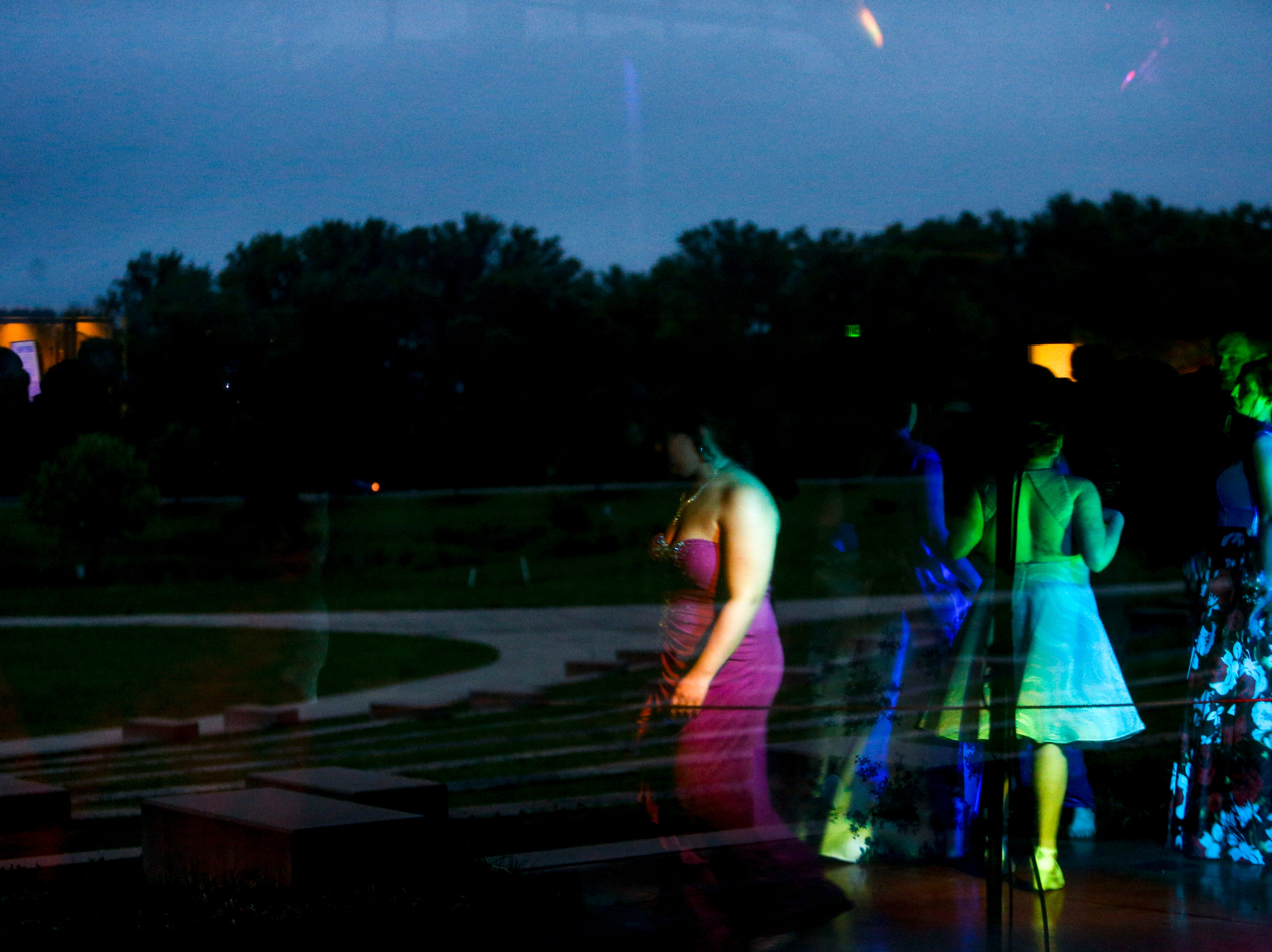 Hundreds of seniors from Montgomery County Central High School celebrated their senior prom during a break from the weather in an otherwise rainy day at Wilma Rudolph Event Center in Clarksville, Tenn., on Saturday, May 11, 2019.