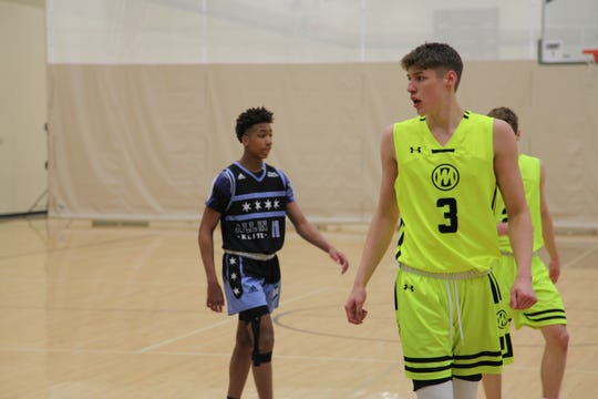 Class of 2021 prospect Chase Courbat is one of Iowa's most highly regarded sophomore talents.