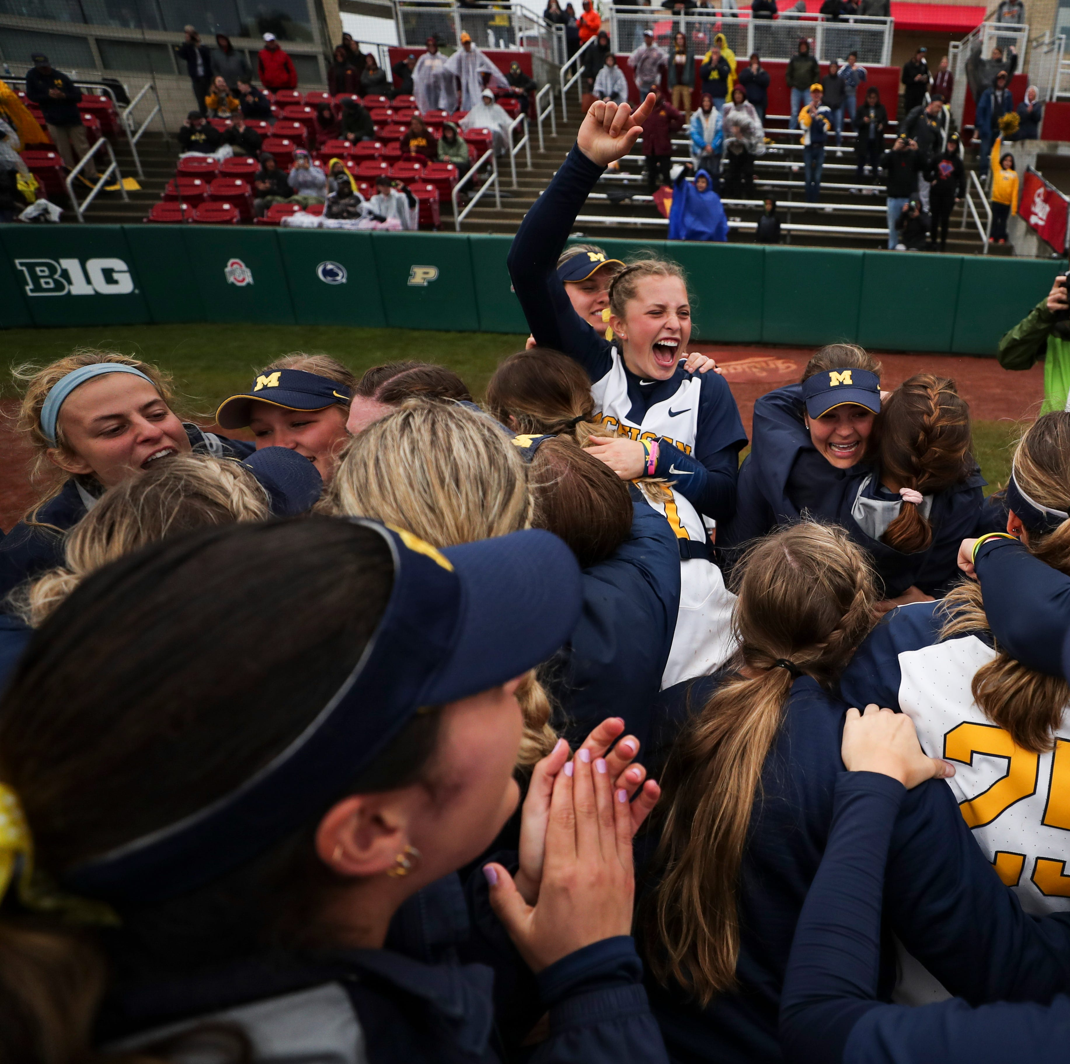 Michigan softball picks up first win in NCAA regional, run rules SFU