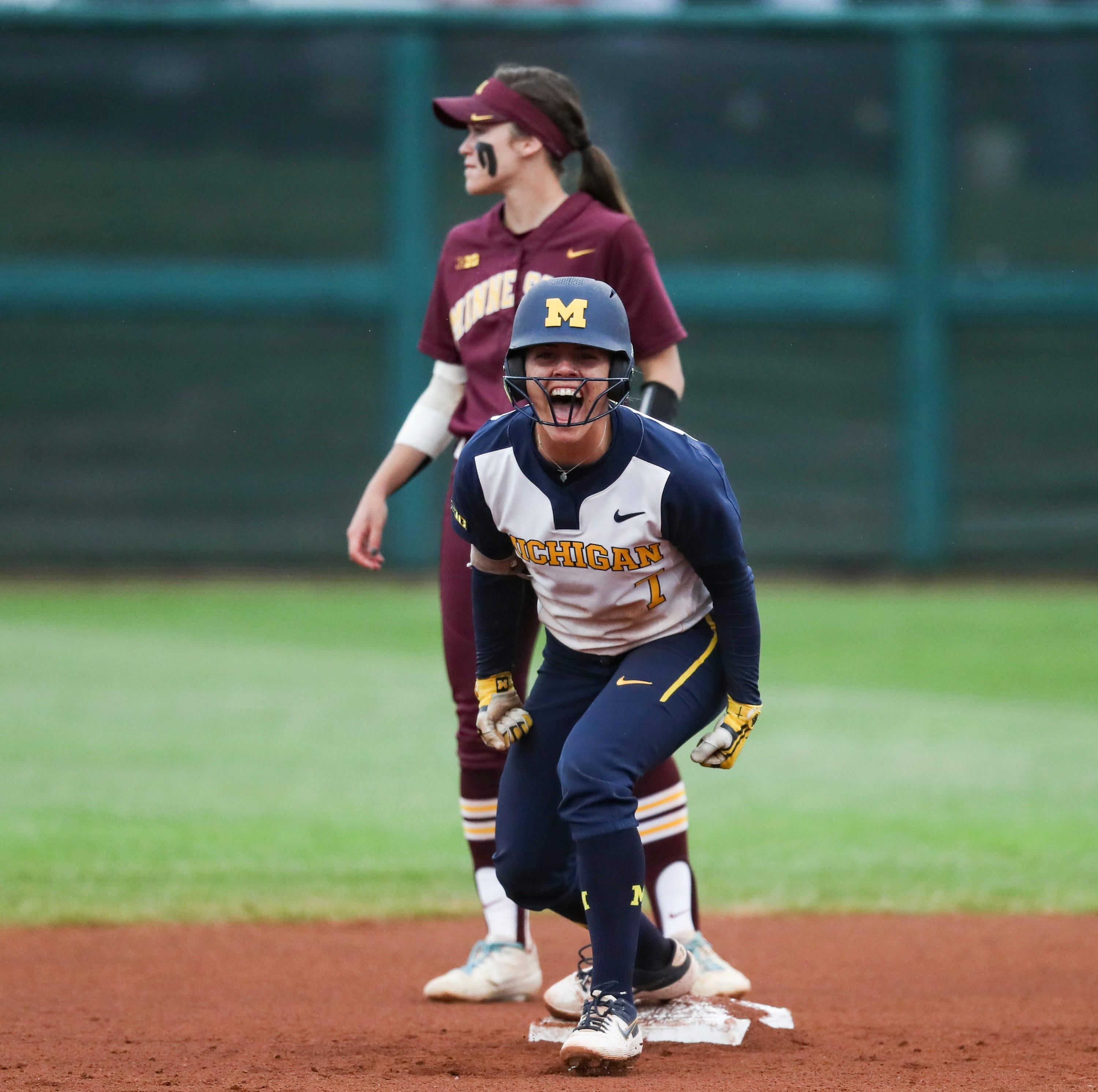 Freshman catcher clutch as Michigan softball gets NCAA regional win