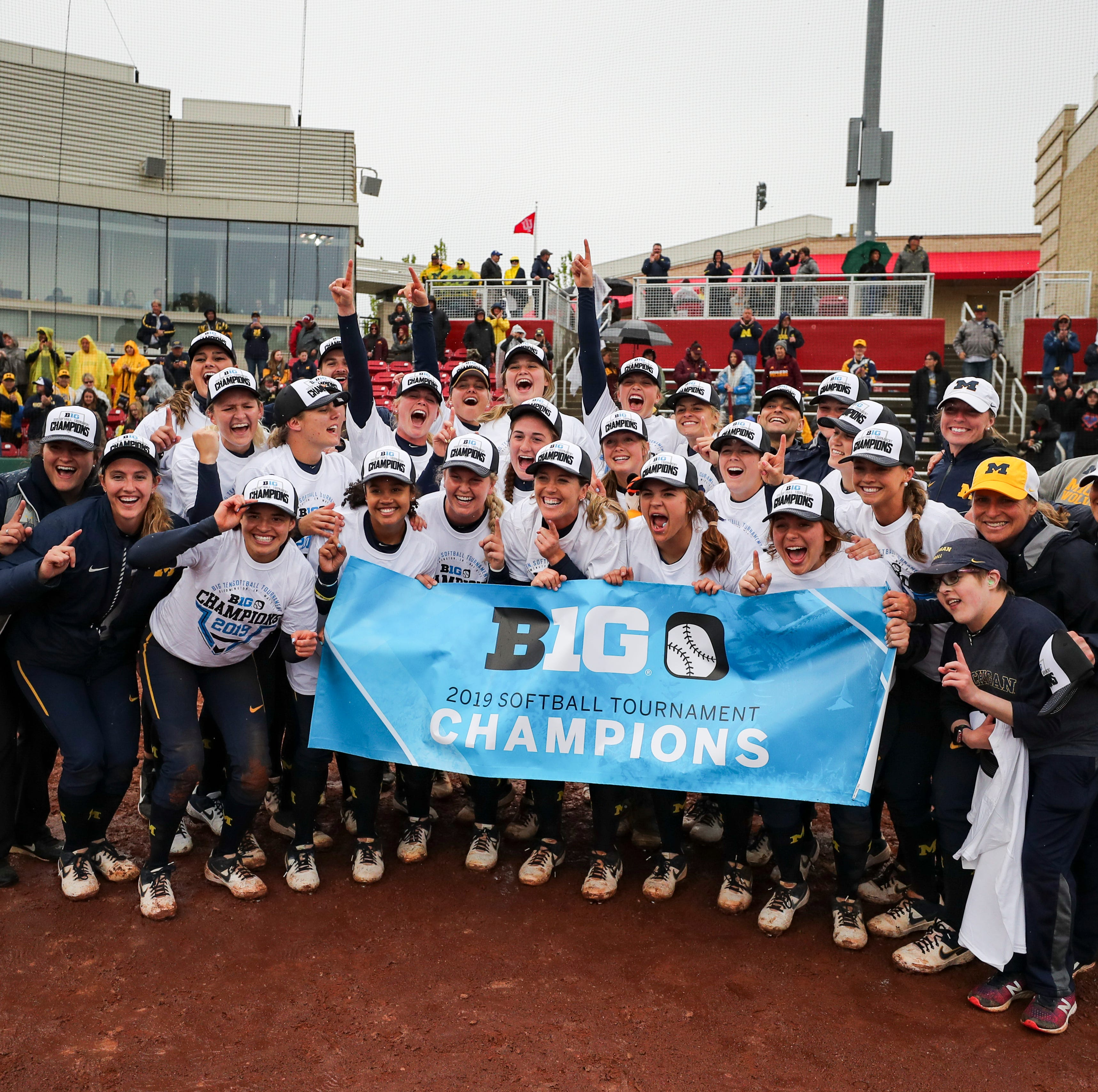 Michigan softball 1 win from Super Regional after thrilling walk-off