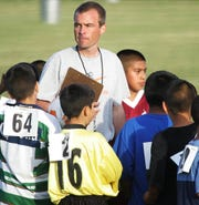 Tim Richey, who organized the inner city Think Detroit PAL soccer league, is shown on Thursday, June 15, 2006. Richey is now Detroit PAL CEO.