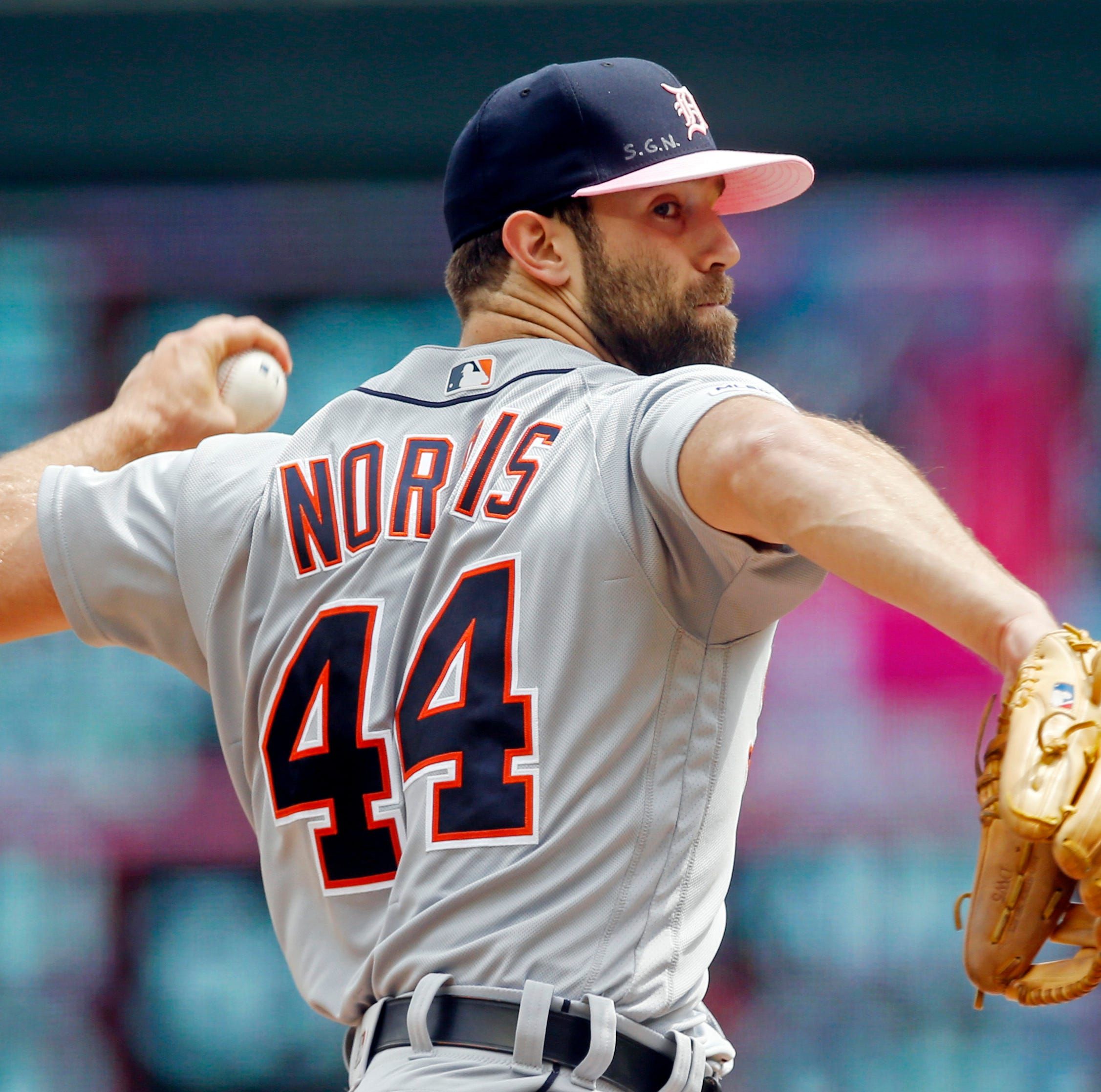 Justin Verlander helped Tigers' Daniel Norris get past darkness of rehab