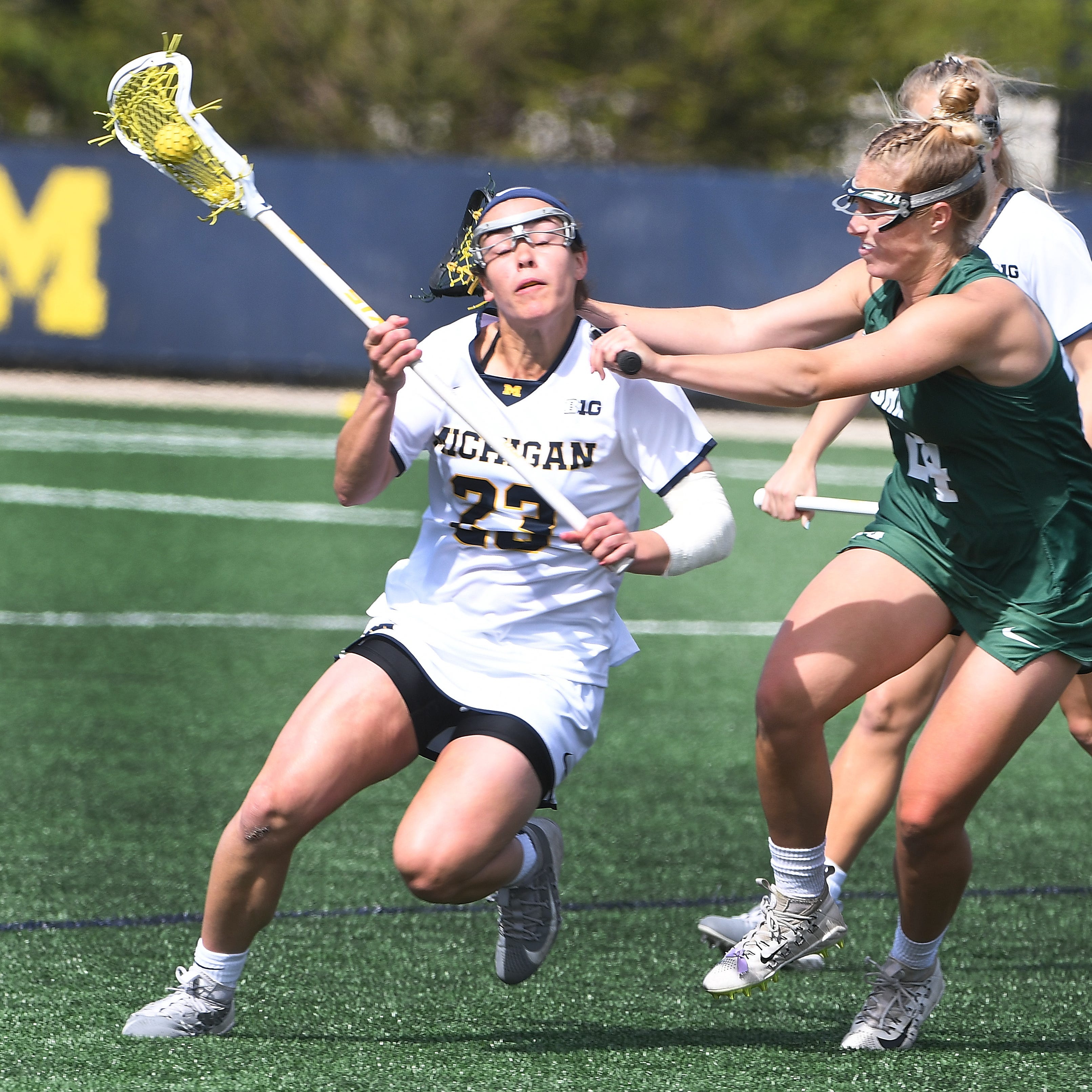 Michigan women's lacrosse bows out in NCAA tournament, but program is on the rise